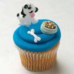 This is so Awesome!!! #Cute!!! #Puppy Cupcake!!!