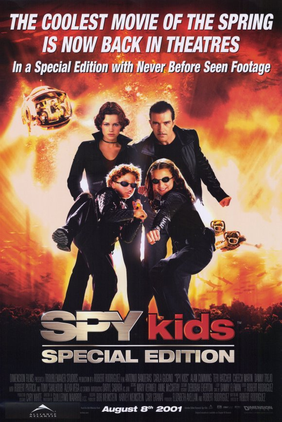 Image Spy Kids Special Edition Movie Poster Jpg Spy