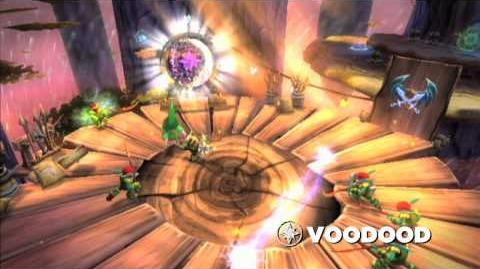 Skylanders Spyro's Adventure Meet the Skylanders -Voodood