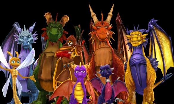 Dragons (The Legend of Spyro) | Spyro Wiki | FANDOM ...