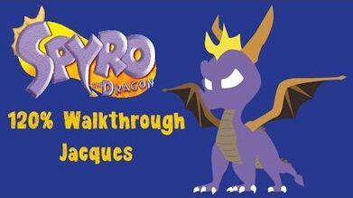 Spyro the Dragon 120% Walkthrough - 30 - Jacques