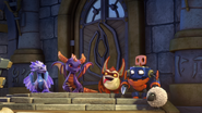 Spyro and the cadets