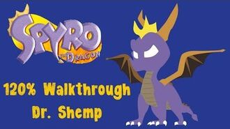Spyro the Dragon 120% Walkthrough - 12 - Dr