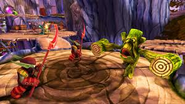 Stump Smash battling Drows