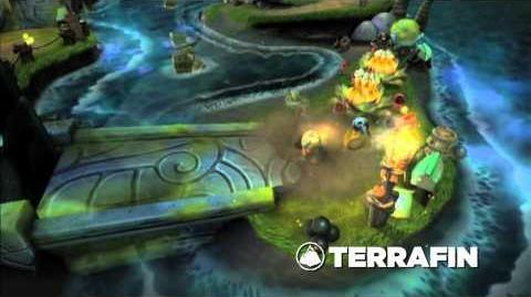 Skylanders Spyro's Adventure - Meet the Skylanders Terrafin
