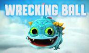 Wrecking Ball Logo
