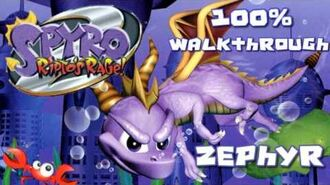 Spyro 2- Ripto's Rage! 100% Walkthrough - 13 - Zephyr