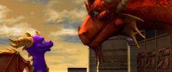 Spyro reunited with Ignitus