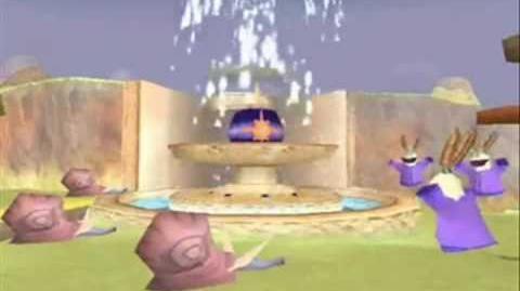 Spyro Ripto's Rage Mystic Marsh Intro and Extro