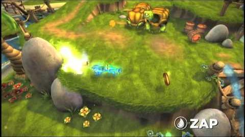 Skylanders Spyro's Adventure - Zap Trailer (Ride the Lightning)