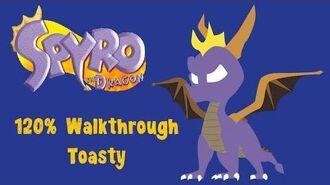 Spyro the Dragon 120% Walkthrough - 6 - Toasty