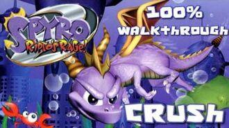 Spyro 2- Ripto's Rage! 100% Walkthrough - 9 - Crush's Dungeon