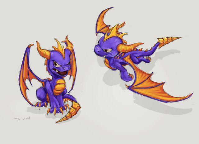File:Spyro Concept Art.jpg