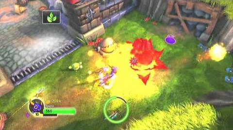 Skylanders Spyro's Adventure - Brief Spyro and Sparx Gameplay