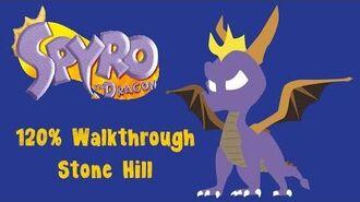 Spyro the Dragon 120% Walkthrough - 2 - Stone Hill