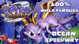 Spyro 2- Ripto's Rage! 100% Walkthrough - 8 - Ocean Speedway