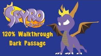 Spyro the Dragon 120% Walkthrough -26 - Dark Passage