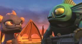 Gill Grunt and Spyro