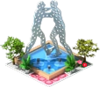 Molecular Man Fountain