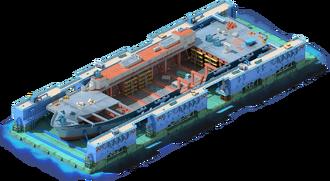 CV-14 Aircraft Carrier Construction
