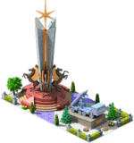 Silver CMS-24 Monument