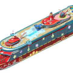 Exclusive Class Christmas Cruise Ship (Level 3)