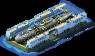 NS-24 Nuclear Submarine Construction