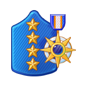 File:Badge Military Level 105.png