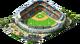 Large Baseball Stadium