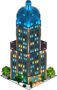 Sun Tower Hotel (Night)