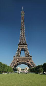 RealWorld Eiffel Tower