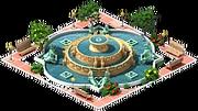 Decoration Buckingham Fountain