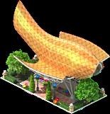 Goldfish Sculpture