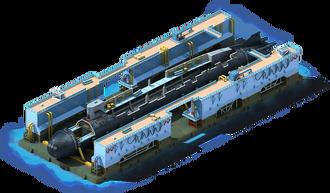 NS-52 Nuclear Submarine Construction
