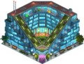 8 House Residential Complex (Night)