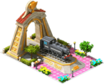 Gold Former Locomotive Arch
