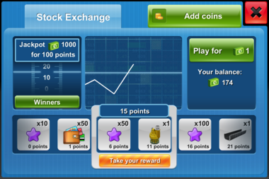 Stock Exchange Play iOS