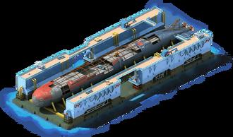 NS-46 Nuclear Submarine Construction