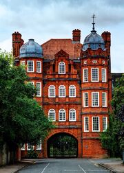 RealWorld Newnham Colege in Cambridge