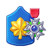 Badge Military Level 57