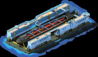 NS-38 Nuclear Submarine Construction