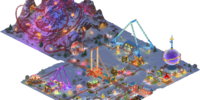 Winter Amusement Park