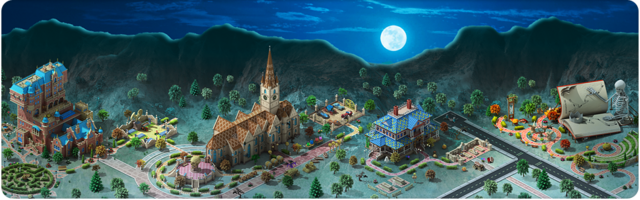File:Halloween in Megapolis Background.png