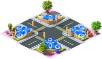 Flower Intersection