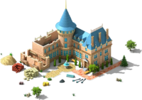 Castle with an Orchard L1