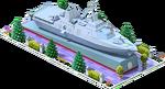 Silver LCS-56 Coastal Ship