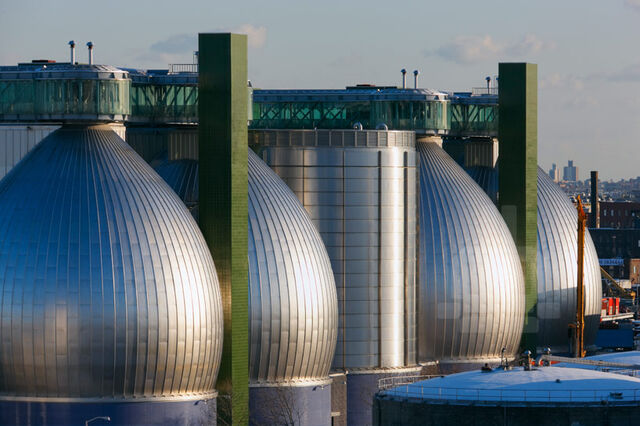 File:RealWorld Water Treatment Plant Digesters.jpg