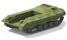MP-11 Medium Tank Construction