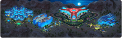 Las Megas Grand Prix Background