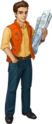 Character Mike (Engineer)